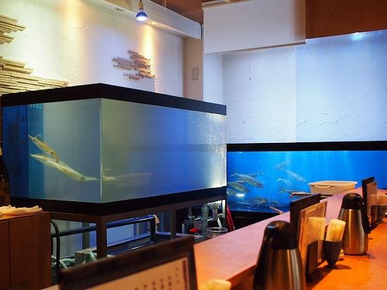 九州の海の幸を新鮮なまま味わえる海鮮料理店。