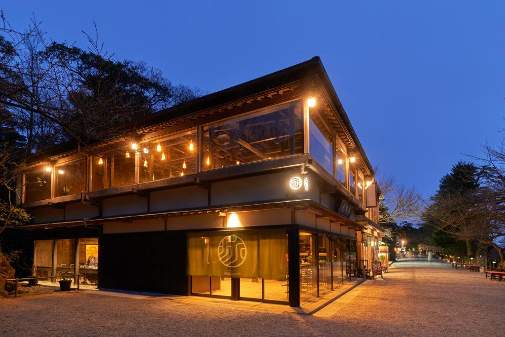 大正二年創業の老舗茶屋で金沢の文化と食を味わいつくす